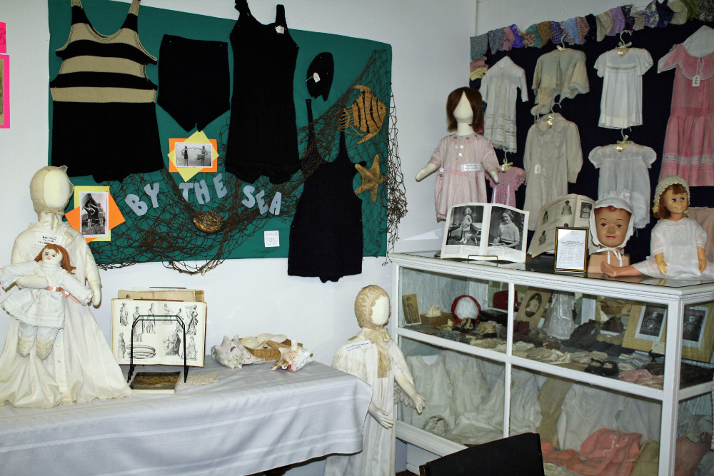 Clothing Display in Meeting Room