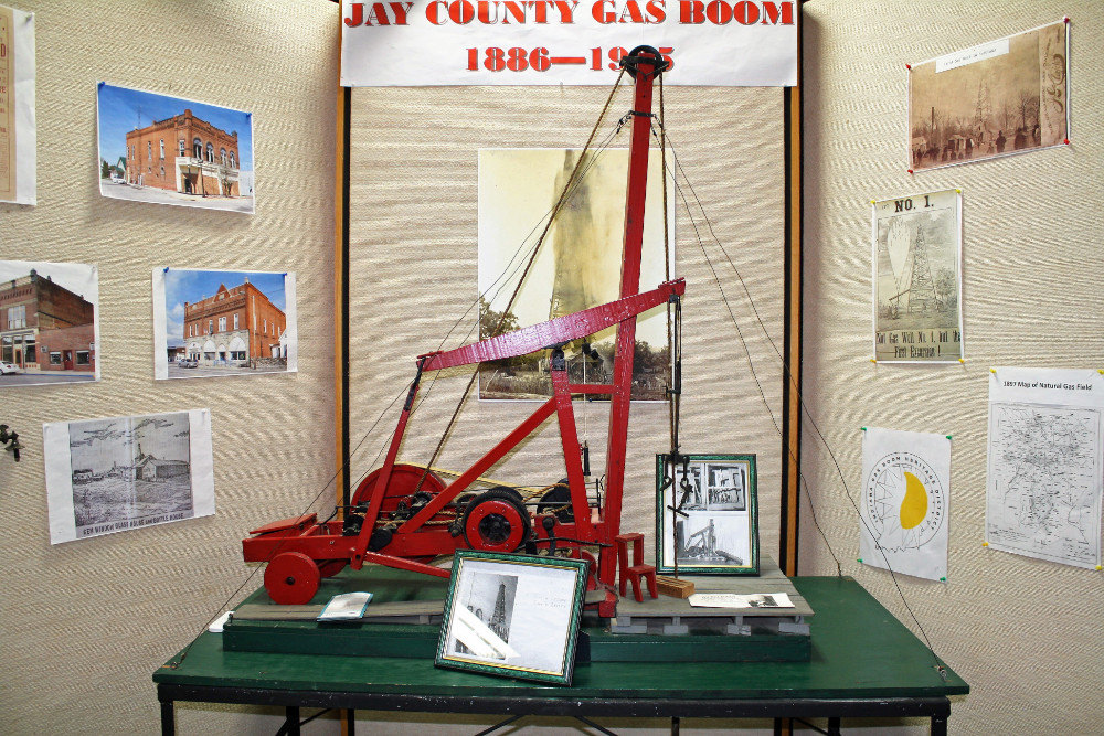 Jay County Gas Boom Display
