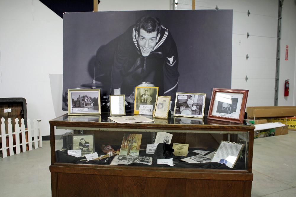 Jack Imel Memorabilia Display